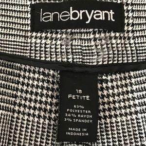 Lane Bryant Pants - Wide-leg houndstooth slacks